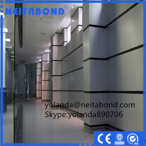 Aluminum Composite Panel Used for Office Building Interior Curtain Wall pictures & photos