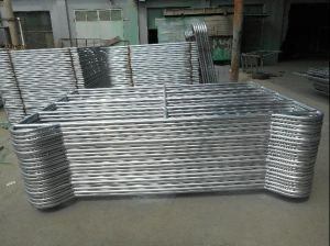 Made in China 1.6m X 2.1m Hot Dipped Galvanized Corral Yard Panels pictures & photos