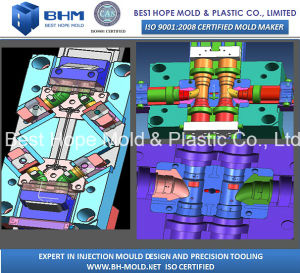 Plastic Pipe Fittings Tooling/Injection Pipe Fittings pictures & photos