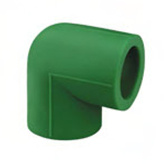PPR Anti-Bacterial Fittings 90 Deg Elbow for Water Supply pictures & photos