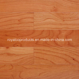 American Cheery Engineered Wood Flooring Tile with Richful Surface