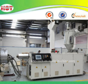 Single Screw Extruder Machine for PVC/PP/PE Pipes/Profiles/Granules/Pellets/Sheets pictures & photos