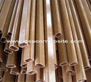 Oval Shape High Strength Pultrusion Fiberglass Tube, Pipe