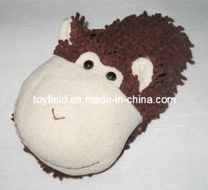 Slippers Plush Stuffed Animals Head Shoes (TF9721) pictures & photos