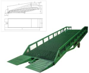 Full Hydraulic Drive Dock Ramp 6t pictures & photos