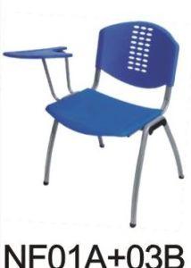 Plastic School Chair with Writing Pad (B601TB)