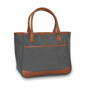 Fashion Handbag/Cosmetic Bag/Tote Bag with OEM China Factory pictures & photos