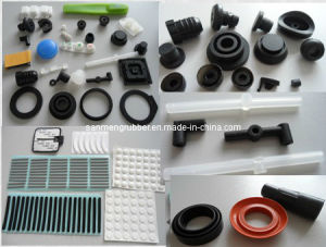 Molded Rubber Parts/ Compression Rubber Part (SMC-010) pictures & photos