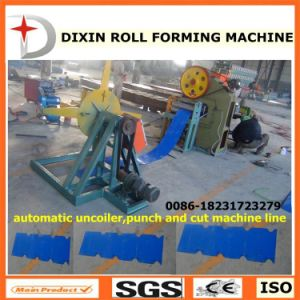 Dx Uncoiler Punching and Cutting Machine Line pictures & photos