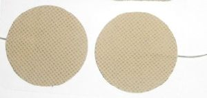 Self-Adhesive Electrode Pad (Dia 50mm) Skin Color pictures & photos