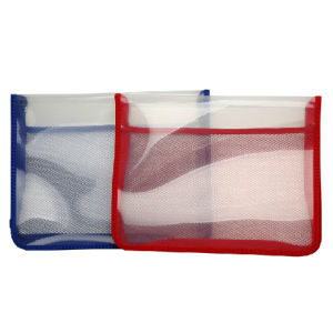 Zipper File Bag with Cloth Edge -6852 (6852) pictures & photos
