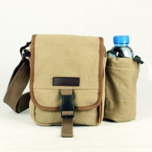 Design Long Strap Canvas Messenger Bag
