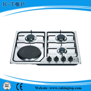 202 S/S Gaz Cooker, Gas Stove with Iron Burner pictures & photos