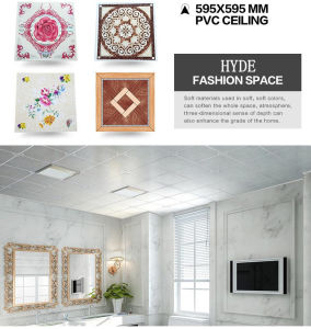 595*595mm PVC Ceiling Board pictures & photos