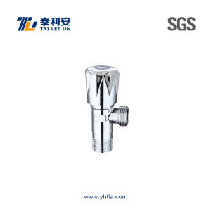 High Quality Chrome Plated Brass Angle Valve (T1046)