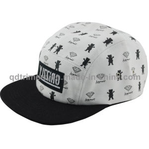 Screen Print Cotton Canvas Outdoor Leisure Camp Cap (TMF6569-1) pictures & photos