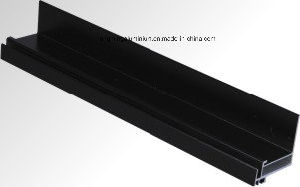 Aluminium-Black-Anodized-Profile-for-Window-Doors-Powder-Coating-Anodizing pictures & photos
