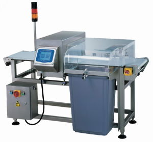 Auto Conveyor Metal Detector for Small Food Application (touch screen design) pictures & photos