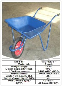 Metal Wheelbarrow Wb1206 pictures & photos