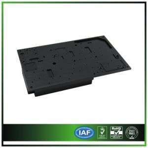 Precision CNC Machining Heatsink with Anodized Black pictures & photos