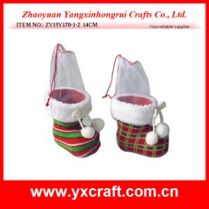 Christmas Decoration (ZY15Y170-1-2) Christmas Boot Promotion Gift pictures & photos