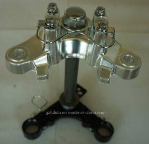 Motorcycle Steering Stem for Cg (Fork Tee, Fork Upper, Fork top Bride, Connect Board, Bottom) pictures & photos