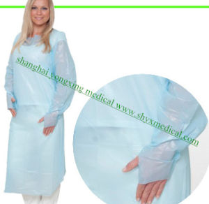 Disposable CPE Gown Medical Operation Gown