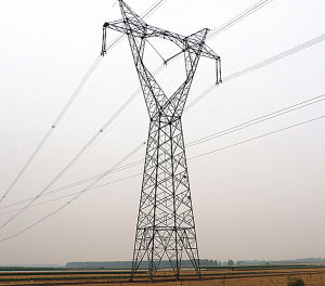 500kv Cat Head Type Anglular Power Transmission Tower pictures & photos