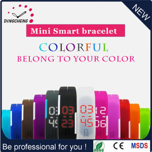 2016 Promotion Watch Electronic Watch Silicone Bracelet Wristwatch (DC-602) pictures & photos