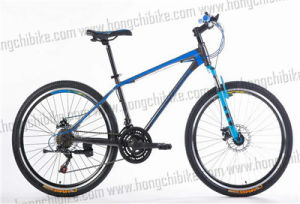 Alloy Frame MTB Bike Full Suspension Bicycle with High Bumper (HC-TSL-MTB-70375) pictures & photos