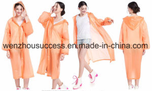 Outdoor Polyester Waterppro Rainwear Rain Poncho pictures & photos