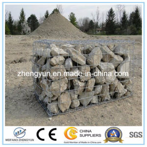 for Sale Factory Price Hot DIP Galvanized Iron Wire Welded Gabion Basket pictures & photos