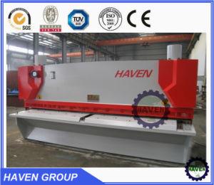 QC11K-10X4000 CNC hydraulic Guillotine Shearing Machine, CNC Hydraulc Steel Plate Cutting Machine pictures & photos