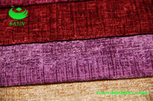 Plain Color Chenille Fabric (BS7003) pictures & photos