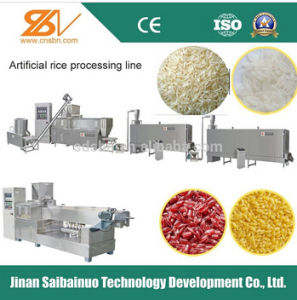 Artificial Nutritional Rice Processing Line/Making Machine/Machinery pictures & photos