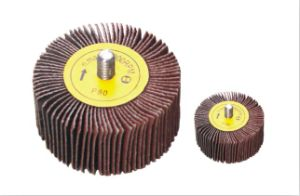 Aluminum Oxide Flap Wheel with 6.35-20mm Shank pictures & photos