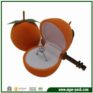 Fruit Series Christmas Orange Plastic Jewelry Box pictures & photos