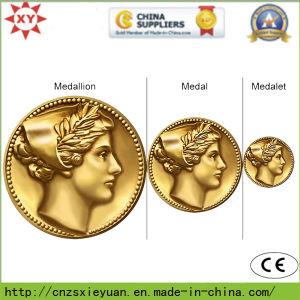 Brass Custom Logo Metal Medallion Coin pictures & photos