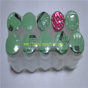Ce Certificated 2 Rows (2X5) Yakult Bottles Automatic Shrink Packing Machine pictures & photos