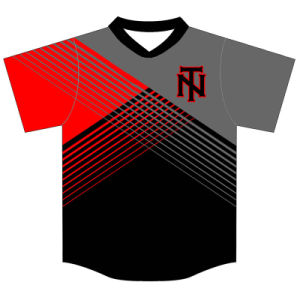 Personalized Youth Sublimation Baseball Shirts for Teams pictures & photos