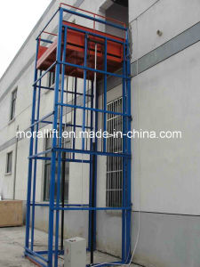 4 Post Electric Rail Freight Lift Elevator pictures & photos
