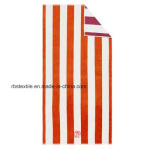 Promotional Qualified Stripe Bath Towel pictures & photos