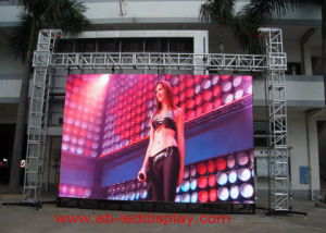 P16 (4*3m--6*4m) Outdoor Video LED Board pictures & photos