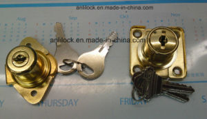 Rhombus Drawer Lock, Golden Drawer Lock Al-106g pictures & photos