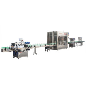Labeling, Filling,Sealing Machine Production Line for Car Oil
