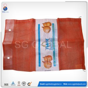 Agriculture Packaging 25kg Poly Mesh Bags pictures & photos