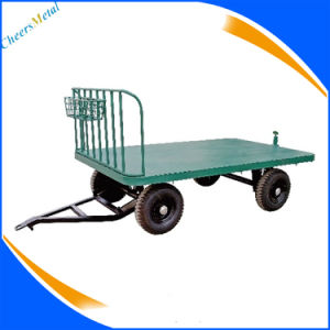 Avaition Aircraft Baggage Trailer with Canopy pictures & photos
