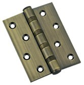 Brass/Stainless Steel Door Hinge (DH-1) /Ball Bearing Hinges pictures & photos