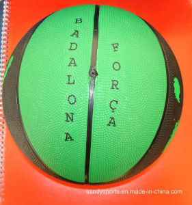 Official Size Good Quality Rubber Basketball pictures & photos