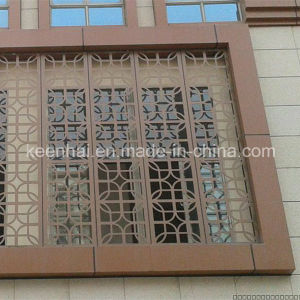 Prefabricated Laser Cutting Metal Exterior Aluminium Wall Cladding pictures & photos